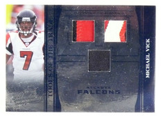 2006 Absolute Memorabilia Michael Vick Patch Shoe Jersey #D01/25 #TOT105 *55618