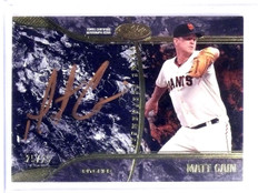 2016 Topps Tier One Matt Cain Performers Copper Autograph auto #D25/25 *56639