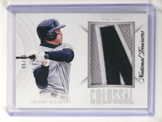 2015 National Treasures Colossal Jacoby Ellsbury 3clr patch #D06/11 #23 *52181
