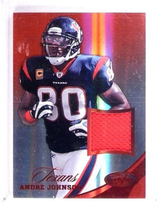 2012 Certified Andre Johnson Mirror Red Materials Jersey #D40/49 #23 *51348