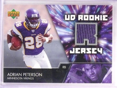 2007 Upper Deck Adrian Peterson Rookie Jersey #UDRJAP *55493