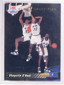 1992-93 Upper Deck Shaquille O'Neal Rookie RC #1 *62913