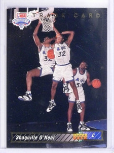 1992-93 Upper Deck Shaquille O'Neal Rookie RC #1B *62912