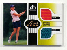 2012 Sp Game Used Tour Gear Stacy Lewis dual shirt #TG-SL *38393
