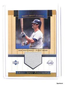 2003 Sweet Spot Pinstripes Don Mattingly Jersey pants SP-DM *44135