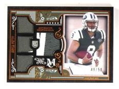 2015 Topps Museum Collection Bryce Petty Quad Jersey Patch #D49/50 #RQRBPE *5424