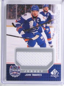 2014-15 UD SP Game Used Stadium Series Materials John Tavares Jersey #SSJT *5921