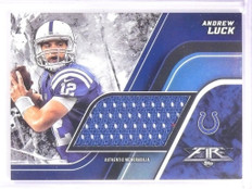 2015 Topps Fire Andrew Luck Jumbo Relic Jersey #FJRAL *53727