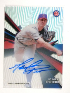 2015 Topps High Tek Mark Prior Autograph Auto #HTMPR *51070