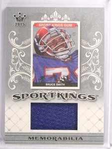 2015 Leaf Sport Kings Bruce Smith Memorabilia Jersey #SJBS1 *53720