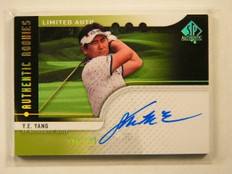 2012 Sp Authentic Limited Y.E. Yang auto autograph rc rookie #D90/100 #113 *4132