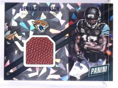 2015 Panini Father's Day Denard Robinson Game Used Ball Cracked Ice #10 *50952