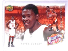 2007-08 Upper Deck NBA Heroes Kevin Durant Rookie RC #KD9 *62099