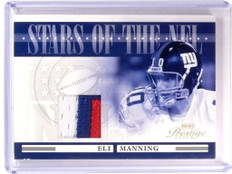 2006 Playoff Prestige Stars NFL Eli Manning 3 color patch #D13/25 #NFL-19 *52859