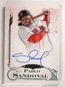 2015 Topps Five Star Pablo Sandoval autograph auto #FSA-PS *50661