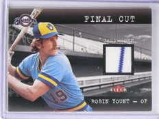 2001 Fleer Final Cut Robin Yount Jersey *65094