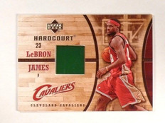 2006-07 UD Hardcourt LeBron James Game Used Floor GF-16 *45796