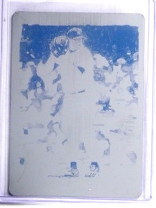 2002 Topps Gallery Press Printing Plate Black Roger Clemens #D1/1 #83 *59252
