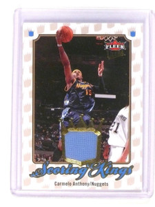 2007-08 Fleer Ultra Carmelo Anthony Scoring Kings Jersey #SK-1 *45522