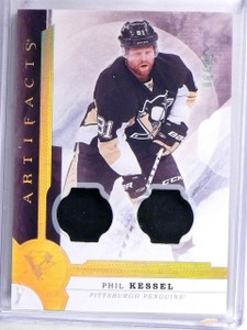 2016-17 Artifacts Materials Gold Spectrum Phil Kessel Jersey #D06/10 #53 *60478