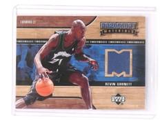 2006-07 UD Hardcourt Kevin Garnett Materials Jersey #HM-KG *45368