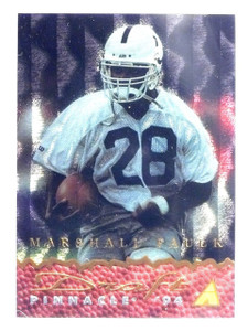 1994 Pinnacle Draft Marshall Faulk Dufex Rookie RC #DP2 *58275