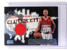 2006-07 Topps Clutch City Stars Tony Parker Relics Jersey #CCSR-TP *45201