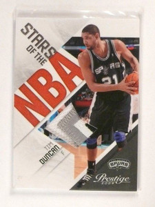 09-10 Prestige Stars Of NBA Tim Duncan 4clr patch #D05/10 #16 *46341