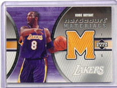 05-06 Upper Deck Hardcourt Materials Kobe Bryant jersey #HM-KB *38885