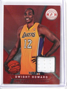 12-13 Panini Totally Certified Dwight Howard jersey #19 *37628