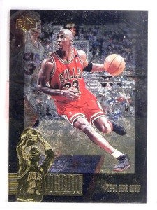1995-96 Upper Deck SP Jordan Collection Michael Jordan #JC18 *62947