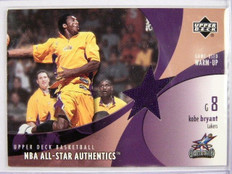 02-03 Upper Deck Authentics Kobe Bryant All Star Warm-up Jersey #KB-AW *31752