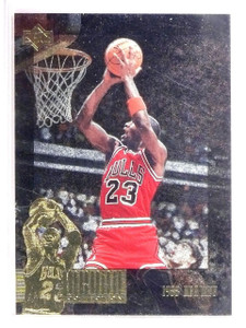 1995-96 Upper Deck SP Jordan Collection Michael Jordan #JC17 *62946