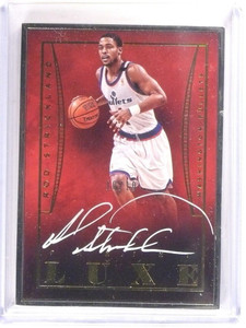 14-15 Panini Luxe Gold Rod Strckland autograph auto #D10/10 #L-RS *52876