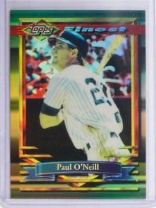 1994 Topps Finest Refractor Paul O'Neill #69 *64968