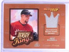 2002 Donruss Jersey Kings Studio Series Jeff Bagwell #D42/50 #JK9 *63768