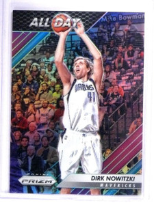2016-17 Panini Prizm All Day Prizms Purple Dirk Nowitzki #D45/75 #7 *62116