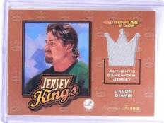 2002 Donruss Jersey Kings Studio Series Jason Giambi #D45/50 #JK2 *63663