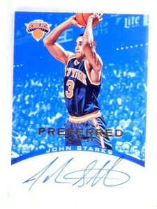 2012-13 Panini Preferred John Starks Blue Autograph Auto #D39/49 #134 *49067