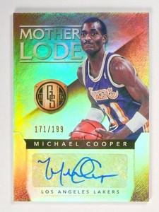 14-15 Panini Gold Standard Michael Cooper Mother Lode Autograph Auto /199 *49027