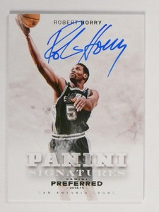 14-15 Panini Preferred Signatures Robert Horry autograph auto #D15/30 *48979