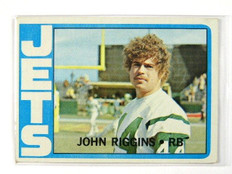 1972 Topps John Riggins rc rookie #13 EX *28747
