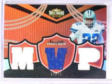 2006 Topps Triple Threads Red Relics Emmitt Smith Jersey Patch #D28/36 *57603