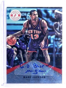 12-13 Totally Certified Signatures Mark Jackson autograph auto #D03/25 *47923