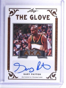 2012 Leaf Legends Of Sport AKA Gary Payton autograph auto #AKA-GP1 *47890