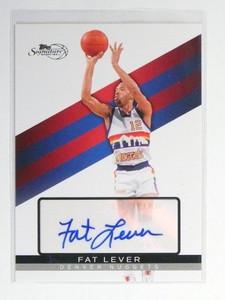 2008-09 Topps Signature Auto Autograph #TSART Fat Lever #D074/750 *47604