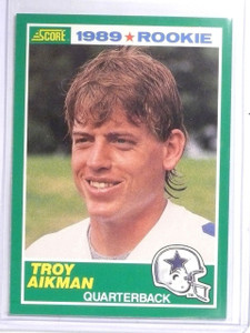 1989 Score Troy Aikman Rookie RC #270 *60699