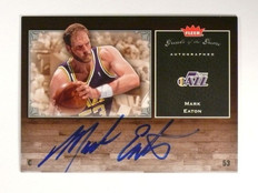 05-06 Fleer Greats Of The Game Mark Eaton autograph auto #GG-ME *46762