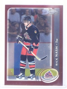 2002-03 Topps Chrome Rick Nash Rookie RC #175 *64732