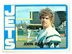 1972 Topps John Riggins rc rookie #13 *27260